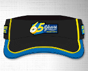 65th Black Mesh Visor