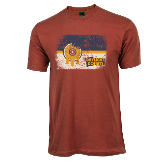 """Tulsa Flag"" Terracotta T-Shirt"